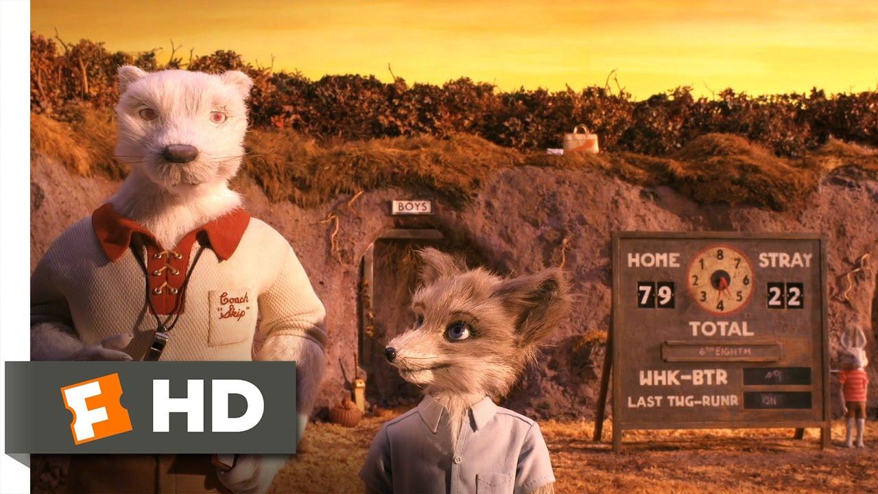 Fantastic Mr Fox 2 5 Movie Clip Whack Bat 2009 Hd Youtube