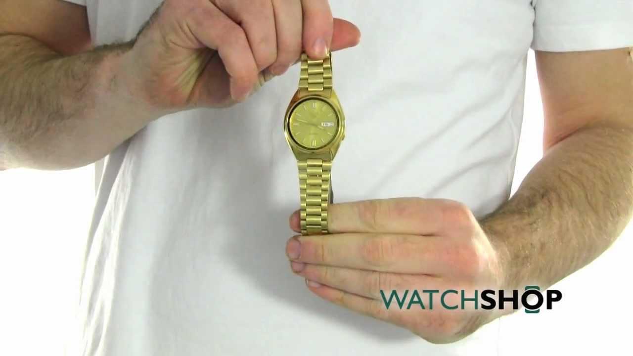 Men S Seiko 5 Automatic Watch Snxs80 Youtube