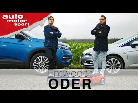 Opel Grandland X vs Astra Sports Tourer | Entweder ODER | (Vergleich/Review) auto motor und sport