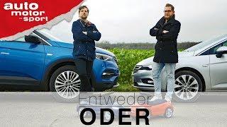Opel Grandland X vs Astra Sports Tourer   Entweder ODER   (Vergleich/Review) auto motor und sport