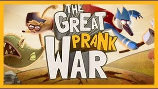 Regular Show - The Great Prank War - Regular Show Games