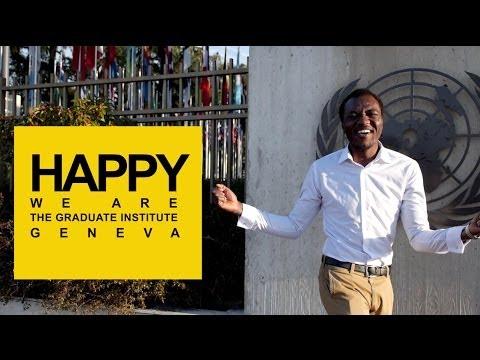 Happy Pharrell Williams - We are from The Graduate Institute, Geneva #HAPPYDAY