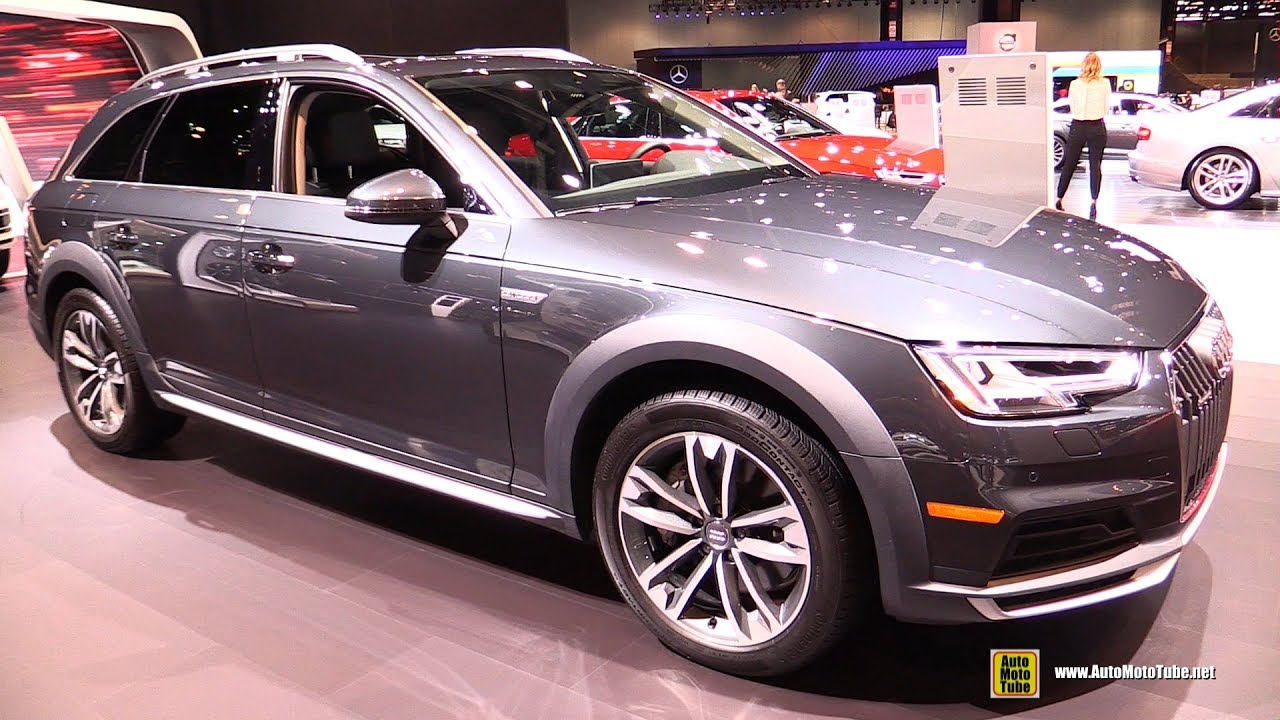 2017 audi a4 allroad exterior and interior walkaround. Black Bedroom Furniture Sets. Home Design Ideas