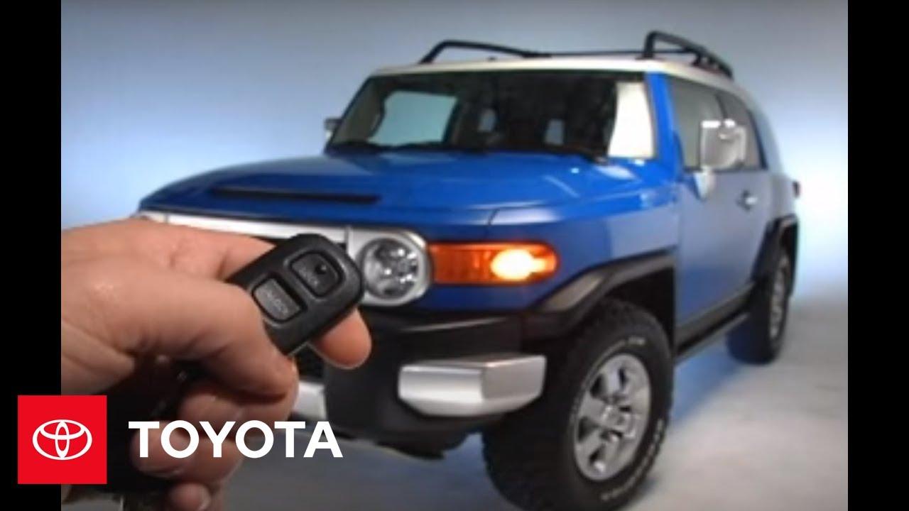 Toyota Camry: Illuminated entry system