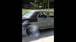 1966 impala 283 burnout