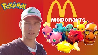 POKEMONY w McDONALD'S [UNBOXING HAPPY MEAL]