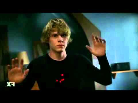 American Horror Story - Tate Shot By Cops ( 1x06 Piggy,piggy )