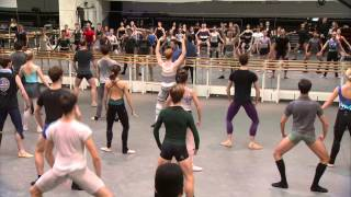 Watch the full morning class from The Royal Ballet in London. Class...
