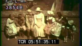 Sound Of Music Behind The Scenes Footage (stock Footage / Archival Footage)