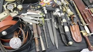 Выставка и продажа ножей и холодного оружия в Израиле. 22.07.16.(, 2016-07-23T16:43:47.000Z)