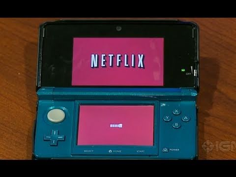 Netflix Nintendo 3DS  IGN First Look