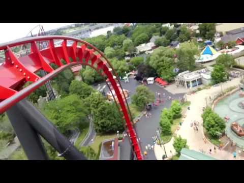 Top 10 Roller Coasters at Six Flags Great America