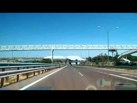 Driving from Madrid airport to the city