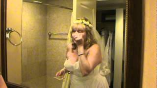 Bride Getten Ready,  Lake Tahoe, Tom and Tina Wedding