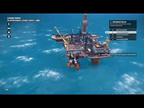 Trio offshore removal of life campaign Just Cause 3