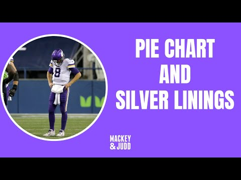 Minnesota Vikings lose to Seahawks: Pie chart of blame and silver linings