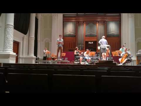 Messiah in Victoria Concert Hall / The trumpet shall sound