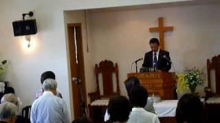 プロテスタント教会礼拝式-祝祷と後奏(ペンテコステ礼拝にて)