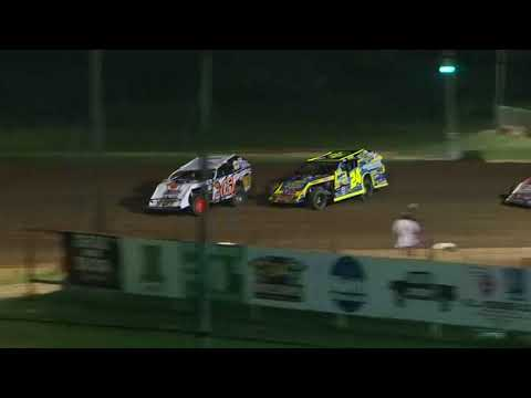 DIRTcar Summer Nationals Modifieds Quincy Speedway July 8th, 2018 | HIGHLIGHTS
