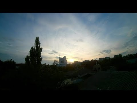 Chișinău - Apus de soare / Кишинёв - Закат / Chisinau - Sunset/ - Time - Lapse