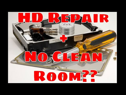 Perilous Tale  of a Platter Swap - HARDDRIVE Repair with NO CLEAN ROOM