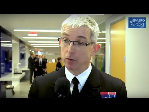 NATO's Johnstone on Allied Maritime Force on Priorities, Force Planning, Hybrid Warfare