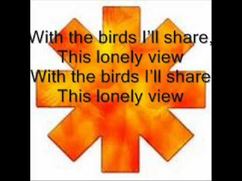Red Hot Chili Peppers Scar Tissue {lyrics}