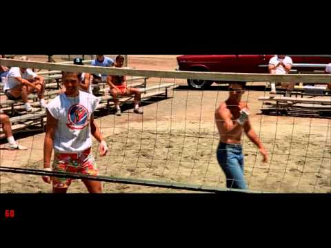 Top Gun Volleyball Scene