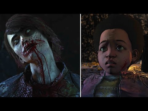 Walker James Eats Clem Alive -All Choices- The Walking Dead The Final Season Episode 4