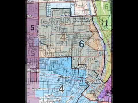 Aurora Ward Maps 2012 - Proposed Redistricting