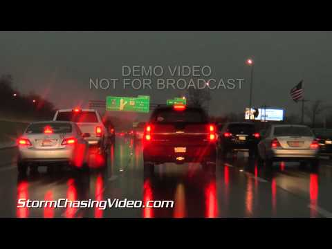 02/20/2014 Memphis, TN Tornado-Warned Storm