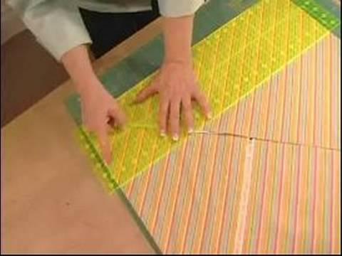 How to Make Quilts : How to Cut a Bias Binding - YouTube : cutting bias strips for quilt binding - Adamdwight.com
