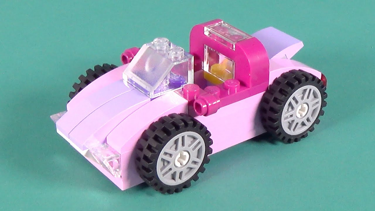 lego car pink building instructions lego classic 10702. Black Bedroom Furniture Sets. Home Design Ideas
