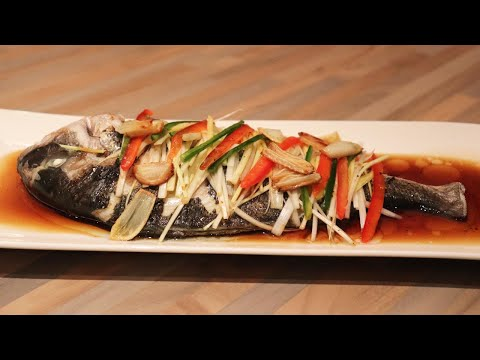[recette-coréenne]-daurade-à-la-vapeur-/-생선찜-(파와-마늘향이-솔솔~~)