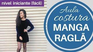 Aula costura vestido manga raglã   Alana Santos Blogger