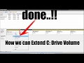 Extend the size of C: Drive without any Software (Tutorial) -Windows 7,8,8.1,10
