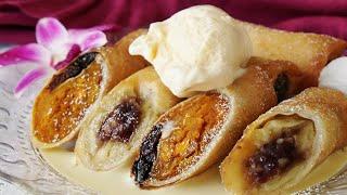 【アジアン風味】カボチャとバナナの甘〜い春巻き テイストメイドは食や...