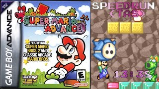 Super Mario Advance Speedrun (TAS) - 13:38