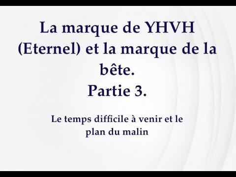 LA MARQUE DE YHVH (ETERNEL) ET LA MARQUE DE LA BÊTE. PARTIE 3 ET LE DIRECT