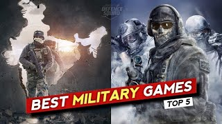 TOP 5 WAR GAMES FOR ANDROID IN 2021    HIGH GRAPHICS    (ONLINE/OFFLINE)