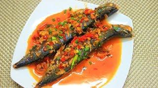 Bí quyết làm món cá Saba rim tỏi ớt hết tanh lại rất ngon