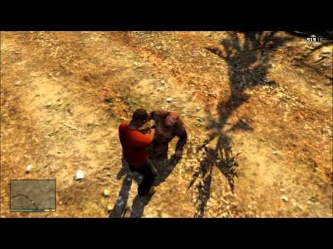 Killing Bigfoot (Grand Theft Auto 5)