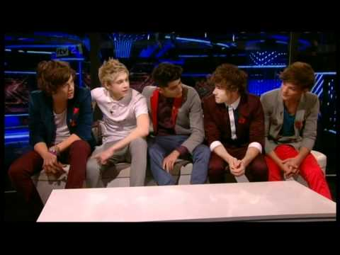 One Direction Xtra Factor Interview With Caroline Flack & Olly Murs