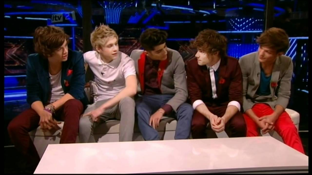 One Direction Xtra Factor Interview With Caroline Flack Olly Murs Youtube