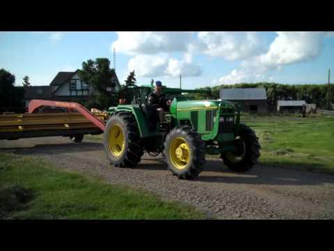 Moncrief April 16, 2014 Alameda, Sask  John Deere 6300 FWA Tractor Mack Auction Company