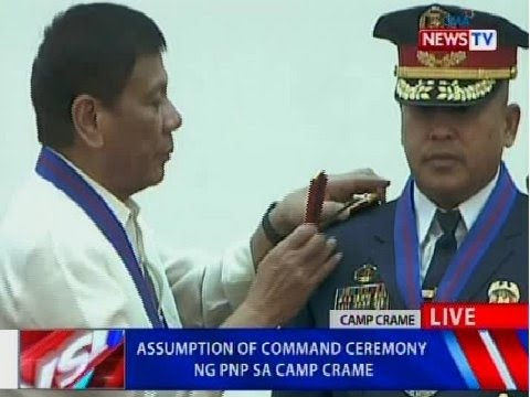 NTVL: Assumption of Command ceremony ng PNP sa Camp Crame
