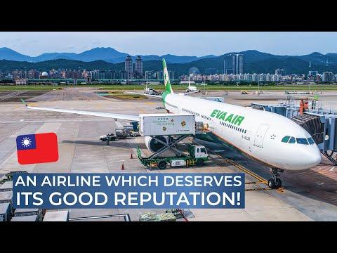 TRIPREPORT   EVA Air (ECONOMY)   Airbus A330-300   Tokyo Haneda - Taipei Songshan
