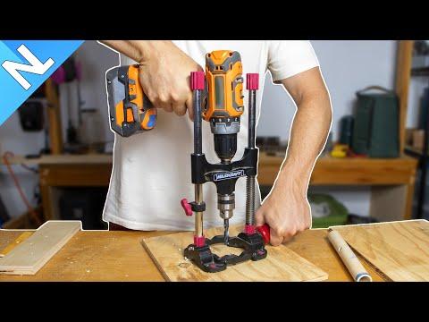 Drillmate product review, DrillMate Portable Multi-Angle Drill Guide with 3/8 in. Chuck