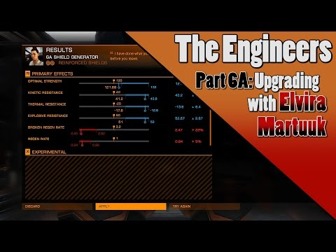 Elite Dangerous - Engineers - Part 6A: Python Upgrades with Elvira Martuuk
