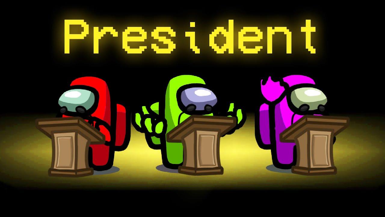 PRESIDENT Mod in Among Us! (President Voting Mod)